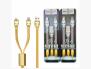 Cáp Hoco U14 Steel Man 2 Đầu Micro và Lightning Đa Năng - MSN181332