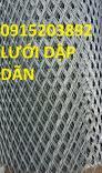 Chuyên lưới dập dãn hình thoi 1li, 2li, 3li, 4li, .. giá tốt tại hà nội