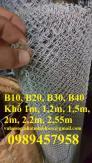 Lưới thép B40 ô 10x10, 20x20, 30x30, 40x40, 50x50, 60x60, 70x70