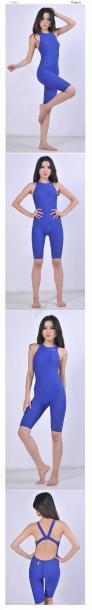 Bộ nữ liền tới gối chuyên nghiệp Yingfa 925 - Xanh