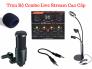 Bộ Live Stream Micro Thu Âm + Sound Card V9 - MSN388356