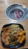 Bếp nướng than hoa inox lắp âm bàn cho quán nướng lẩu