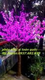 Đèn cây hoa đào 1440 led, cây hoa đèn led