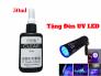 Keo UV Dán Kính, Dán Mica 50ml Tặng Đèn UV LED 50ml