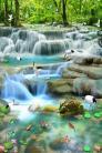 Tranh phong cảnh - gạch tranh sơn thủy hữu tình