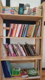kệ sách gỗ 4 tầng 65cm giá rẻ ở TP.HCM