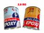 Keo A và B Epoxy 511 Dán Dá ,Dán Nhựa,Dán Kim Loại 2,8kg- MSN388389