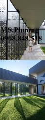 Mặt dựng giếng trời hoa văn trang trí nghệ thuật tinh tế cho ngôi nhà của bạn
