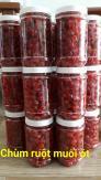Hủ 500gr Mứt chùm ruột chua ngọt hoặc lắc muối ớt thơm ngon - Food by Mama