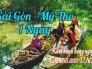 Sài Gòn - Mỹ Tho miền Tây sông nước
