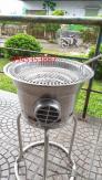 Lò nướng than hoa hút âm không khói Hnà Quốc