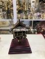 Biểu trưng chùa Một Cột bằng đồng cao 12cm quà tặng đối tác nước ngoài