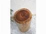 Đôn gỗ me tây tự nhiên a2 ( d28cm x h45cm)