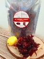 Mứt atiso đỏ (hibiscus, hồng hoa, lạc thần, bụp giấm) chua chua ngọt ngọt ăn cựa giòn