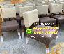Ghế gỗ cafe chân gỗ có nệm Xưởng Nội Thất Nguyễn Hoàng