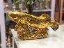 Tượng Cá rồng bằng đồng vàng cao 16cm