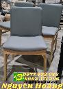Ghế obama -ghế gỗ có bọc nệm ngồi và tựa lưng
