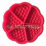 Khuôn silicon làm bánh kẹp, bánh quế – Mã số 356