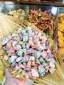 Gói 500gr Mứt dừa ngũ sắc lúc lắc màu tự nhiên siêu thơm ngon - Food by Mama
