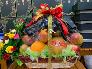 Giỏ trái cây quà Tết biếu bố mẹ vợ, chồng - FSNK215