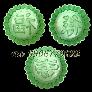 Bộ 3 khuôn nhận xôi, bánh in, trung thu hình tròn Phúc Lộc Thọ - Mã số 66