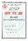 Bán bìa kẹp hồ sơ cán bộ nhân viên công chức viên chức, mẫu 06b-BNV/2019),TT07