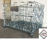 Pallet lưới xếp chồng, Lồng sắt đựng hàng, mesh pallet cages, wire mesh storage boxes