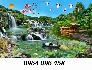 Gạch tranh 3d - tranh gạch 3d phong cảnh - VB43