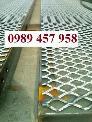 Lưới dập giãn, lưới kéo giãn, lưới hình thoi, lưới mắt cáo 30x60x3ly, 45x90x3ly