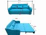 Ghế sofa kéo ra thành giường giường thông minh bằng gỗ tự nhiên