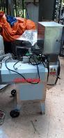 Máy thái lát rau lá công nghiệp, máy cắt khúc rau, máy thái khúc rau sấy khô Sh125