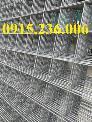 Lưới thép hàn, Lưới thép hàn phi 4, phi 5 ô (50x50), (50x100), (50x200) mới 100%