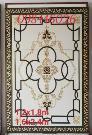 Gạch thảm sàn nhà hoa văn trang trí khắc vàng đẹp HP8900