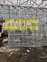 Lưới thép hàn có sẵn phi 4 - Lưới thép đổ sàn bê tông - Lưới thép hàng rào có sẵn
