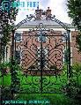 Cổng biệt thự sắt uốn, cổng cắt cnc sang trọng ấn tượng, đẳng cấp cho mặt tiền nổi bật