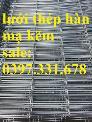 Lưới thép hàn ô vuông 3ly, 4ly, 5ly giá tốt tại Hà Nội