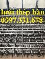 Báo giá lưới thép hàn xây dựng, lưới thép hàn đổ bê tông giá tốt tại Hà Nội