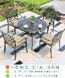 Bàn ghế kiểu sân vườn hiện đại Hồng Gia Hân N036