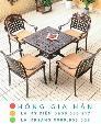 Bàn ghế kiểu sân vườn hiện đại Hồng Gia Hân N038