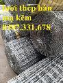Lưới thép hàn D3 ô 50x50 khổ 1m, 1,2m, 1,5m giá ưu đãi