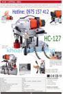 Máy khoan chuyên cắt lỗ trên ống HC-127