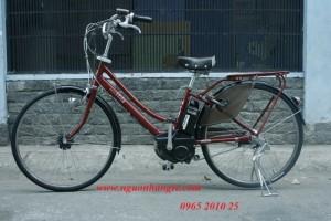 Xe đạp điện Nhật bãi vừa tay ga vừa giữ trợ...