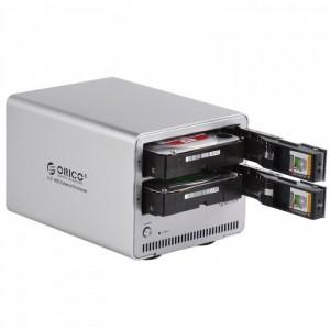 HDD Box ORICO 9528U3 Box 3.0 Hỗ trợ 2 ổ cứng 6TB