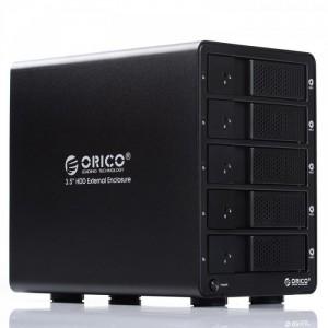Box gắn 5 ổ cứng ORICO, hỗ trợ 5 ổ cứng 6T, USB 3.0, giá tốt cho Anh em quan tâm