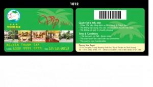Thẻ Vip Card dành cho khách sạn