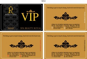 Thẻ Vip Spa
