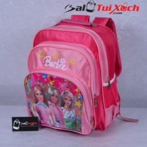 Cặp học sinh màu hồng hình công chúa