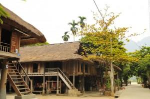 Cho thuê nhà sàn tại Bản Lác, Mai Châu