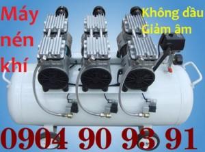 Máy nén khí không dầu giảm âm Pegasus TM- OF750x3- 70L,máy nén khí không dầu 3HP