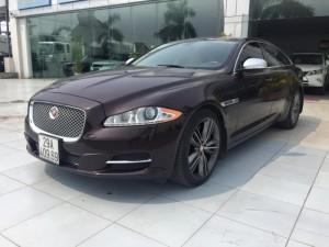 Bán Jaguar XJL 5.0 supercharged màu nâu, sản xuất 2010 đk 2011